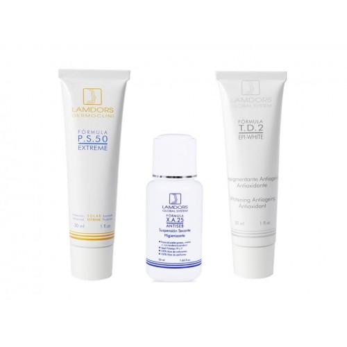 PACK EPI-WHITE MASK (piel grasa)
