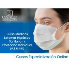 Curso Medidas Extremas Higiénico Sanitarias y Protección Individual (M.E.H.S.P.I.)