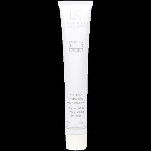 Emulsión Hidratante Rejuvenecedora T.T.3 NATUREL-E 50ml